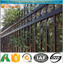 2016 New product outdoor Decorative Wrought Iron fence /iron pickets /steel fence design