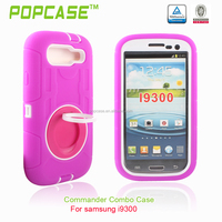 2016 trending products pc and silicone phone case for Samsung i9300