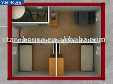 (China Manufacturer)Low cost container house made in china luxury container house designs