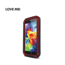 LOVE MEI Best selling items for Samsung galaxy S5 mobile phone case ultra thin metal case for Samsung S5 case