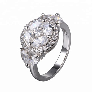 engagement ring diamond 925 italian silver ring custom ring
