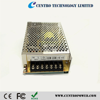 CE ROHS 12V multiple output power supply with 2 years warranty
