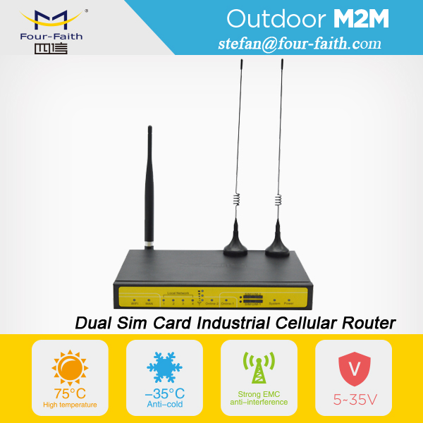 Dual Sim Card 3G Router Bandwidth Bonding router F3946