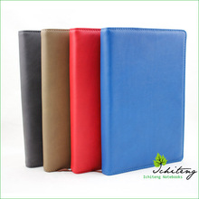 Removable PU Leather Cover Diary with Pen Loop, 80 gsm Offset Paper Writing Journal
