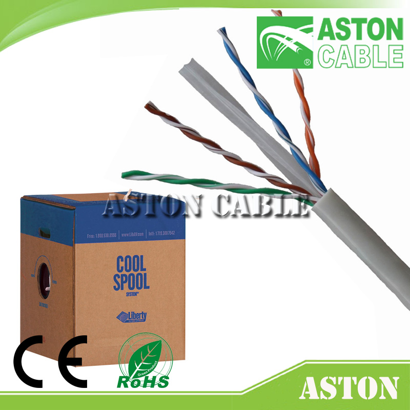 LAN cable manufacturer high quality 300m CAT6 UTP Network CableCopper CCA UTP FTP SFTP