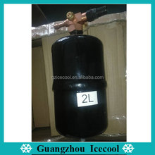 Vertical Refrigerant Liquid Receiver for Refrigeration System