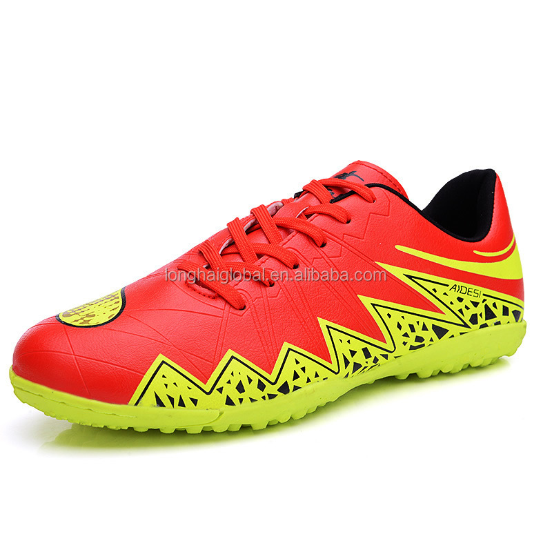 alibaba stock indoor football shoes wholesale cheap for mens, best outdoor sport mens professional football soccer shoes