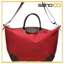 High Quality Folding Dumpling Women Nylon Tote Bag, Lady Hand Bag