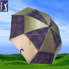 long shaft automatic two-tier golf umbrella