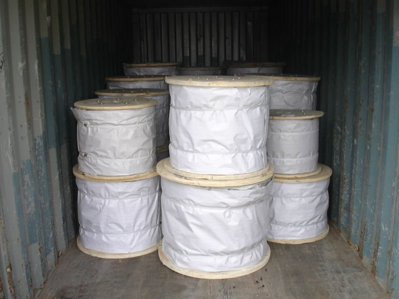 electric -galvanized steel wire rope 6*19