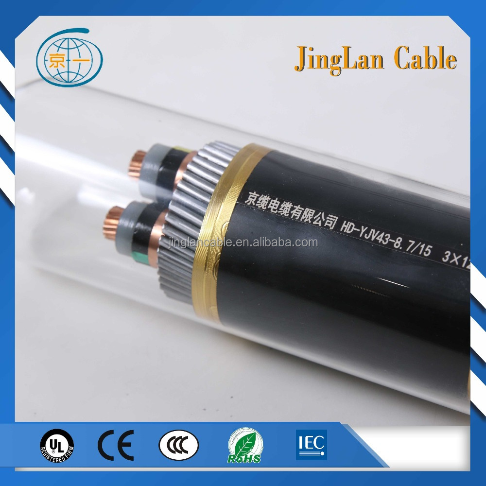 low medium high voltage xlpe insulated power cable electric wire