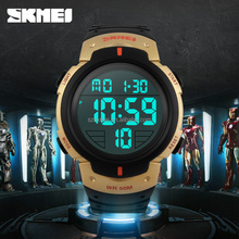 china cheap digital watches with multi funtions waterproof 50M
