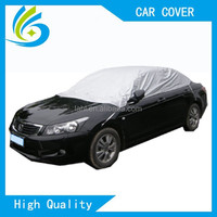 waterproof sun shade fabric heat resistant folding windshield nylon half car roof cover