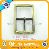 zinc alloy metal belt adjustable buckle china supplier q-0831
