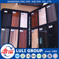 4'*8' low price high glossy UV coated melamine faced MDF board of all size for kitchen made from shandong China uv panels