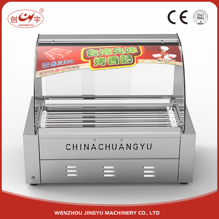 Chuangyu Sale Outdoor Food Cart Make Hot Dog Bread New Product Hot Dog Machinery
