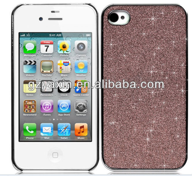 Wholesale cell phone case,Bling Glitter Hard Case Cover Skin For iPhone5 5G