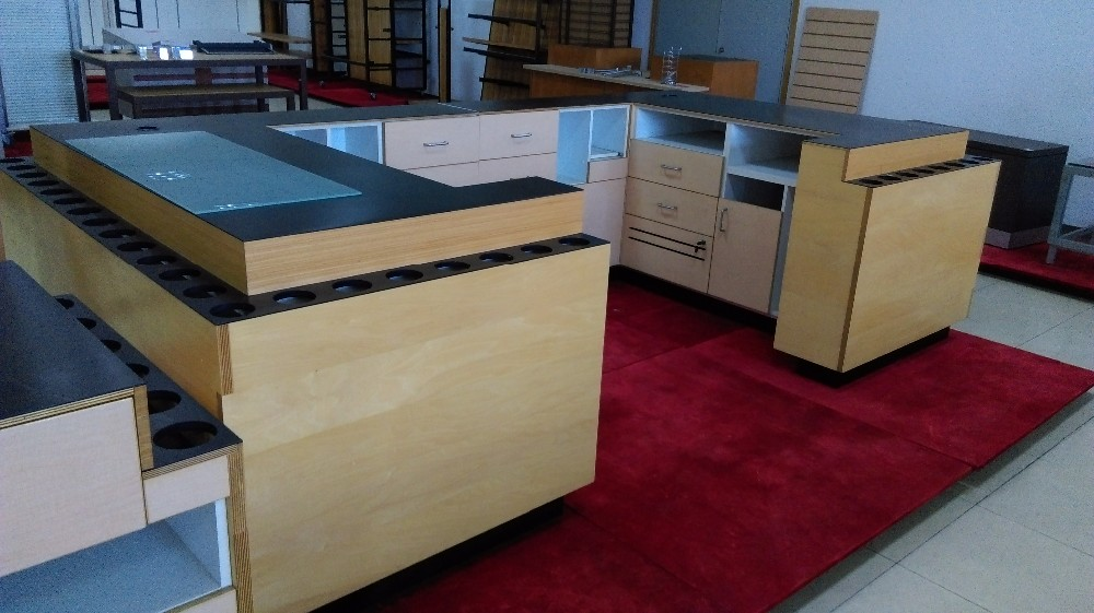 furniture shop counter for jewelry counter display with bar counter