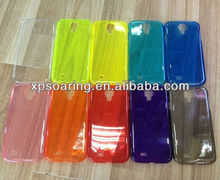 Clear colorful case skin cover for Samsung Galaxy S4 I9500