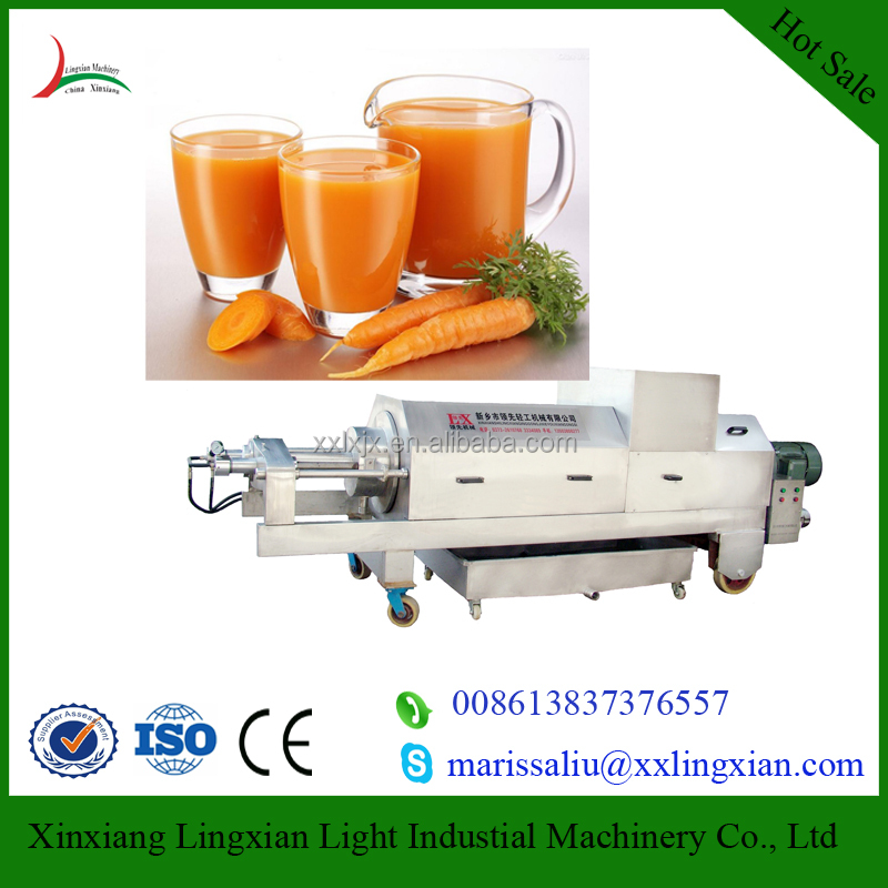 Hydraulic screw Extruder stainless steel fruit and vegetable juice extractor