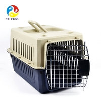 New 5 Different Size Of Plastic Dog/Puppy Pet Kennel /Crate /Cages