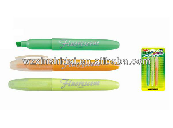 Brilliant Color Highlighter Pen Cheap Price For Kids