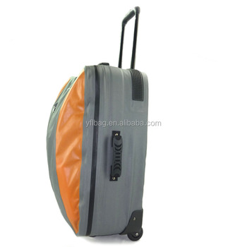 waterproof duffel bag with trolley for camping,travel