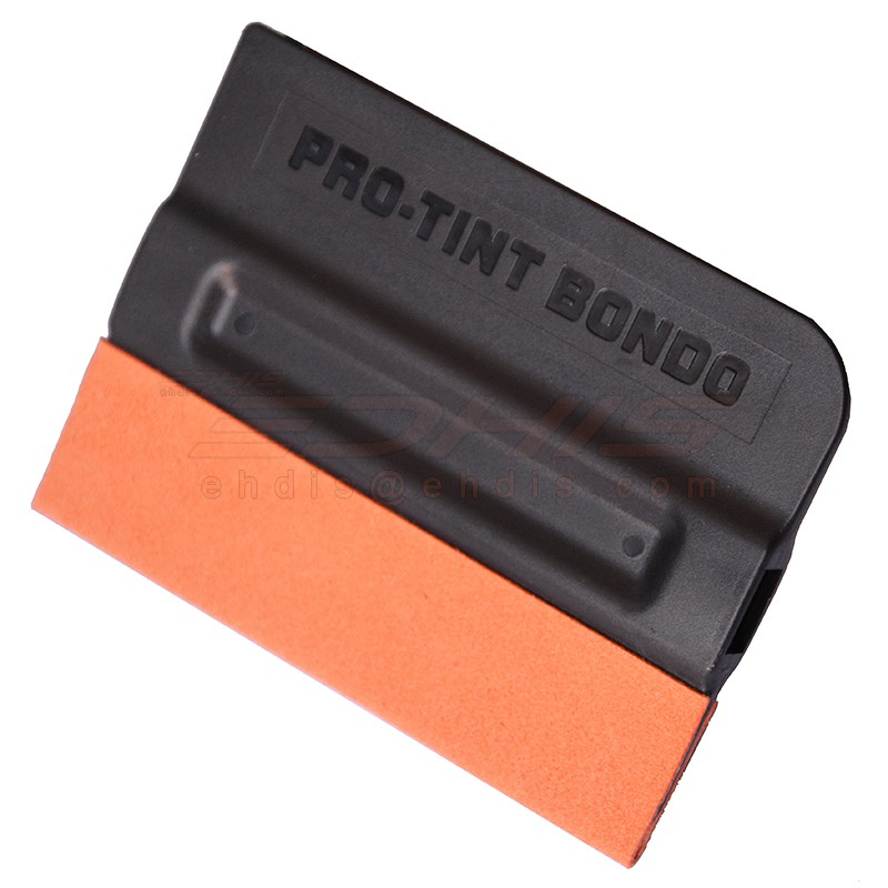 A43F pro-tint bondo squeegee with suede edge