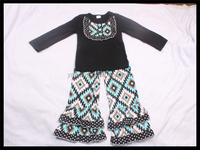 yawoo 2016 wholesale kids clothing brands in india girls aztec outfits winter girl clothing top cheap newborn baby clothing set