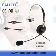 Factory price durable new design headband headset with skype headphone