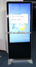 55 inch win8 stand floor touch screen tv pc all in one(HQ55ES-C2-T,i3 i5 i7 CPU optional)