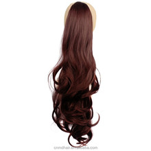 60cm long cheap Wavy Synthetic Hair Ponytails