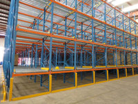 Carton Flow gravity Through Rack Storage Racking Warehouse racking from China factory