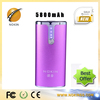 Unique promotional hot selling mobile power bank 5800mah