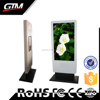 47 Inch Industrial Tv Touch Display Kiosk Multimedia All In One Computer Monitor Windows 7 Professional Interactive Touch Kiosk
