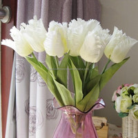 High quality tulip artificial flower for decoration