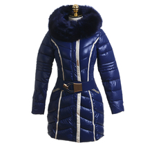 China Manufacture women winter warm thin down jacket coat