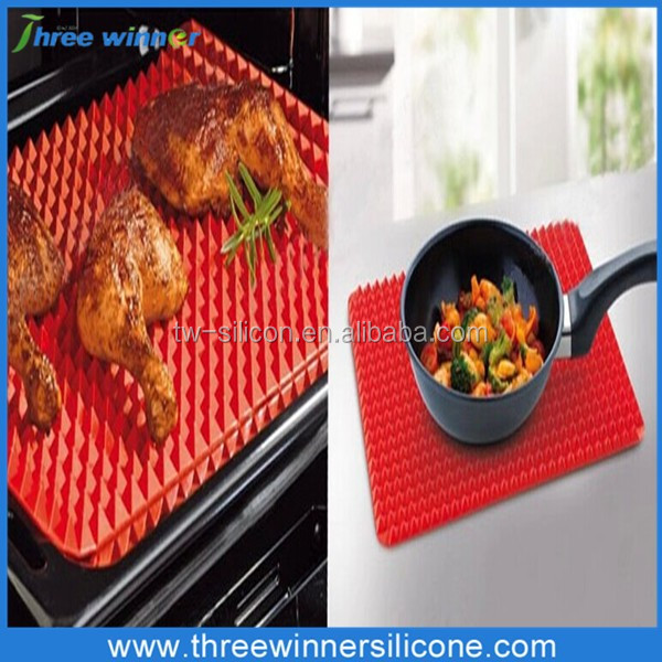 Pyramid Silicone Rubber Baking Oven Mat