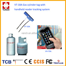 Passive 860-960mhz UHF Rfid Tag For Gas Cylinder Tracking