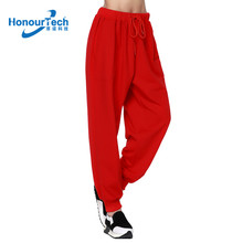 Wholesale Newest Women Tracksuit Low Crotch Jogger Track Pants with Elastic Band