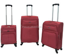 HOT SALE SPINNER WHEELS EVA NYLON TRAVEL BAG TROLLEY LUGGAGE