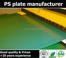 Long run length offset PS plate