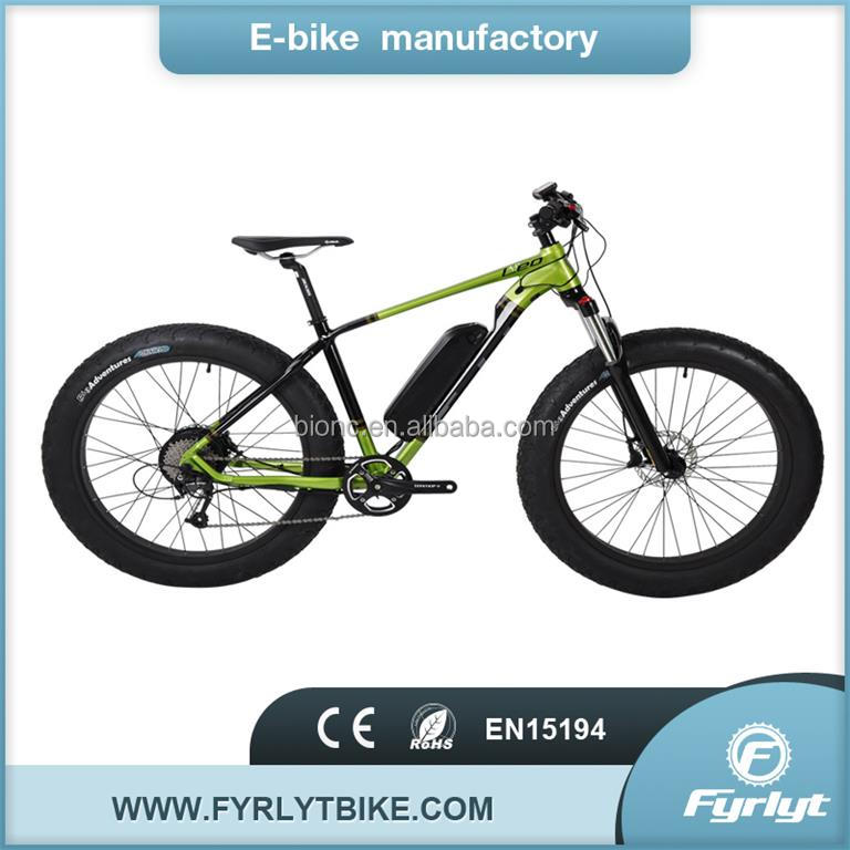 500w motor powerful electric bike 226*4.0 off road e bike snow sand trail ebike