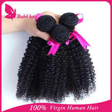 New recommended wholesale Vrigin hair extension afro hair nubian kinky twist