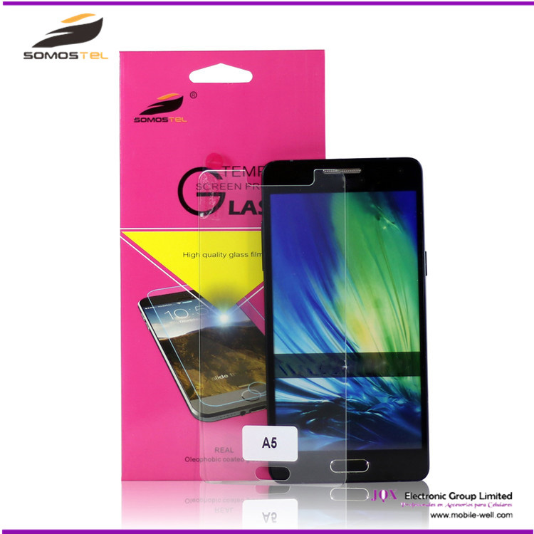 best supplier Best Screen Guard For Samsung A5 2016 Tempered Glass Screen Protector