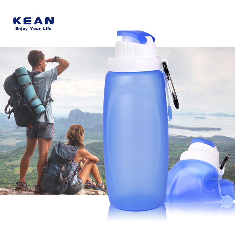 Colleasiple Silicone bpa free water bottle <strong>manufacturing</strong>