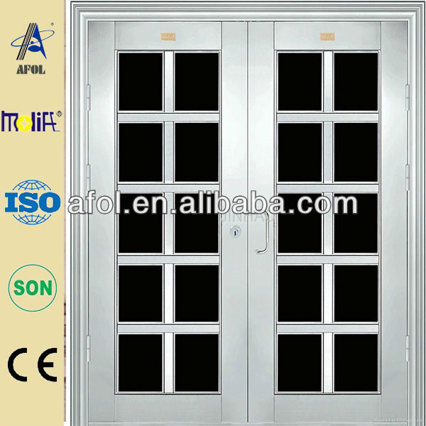 used exterior french stainless steel doors for sale