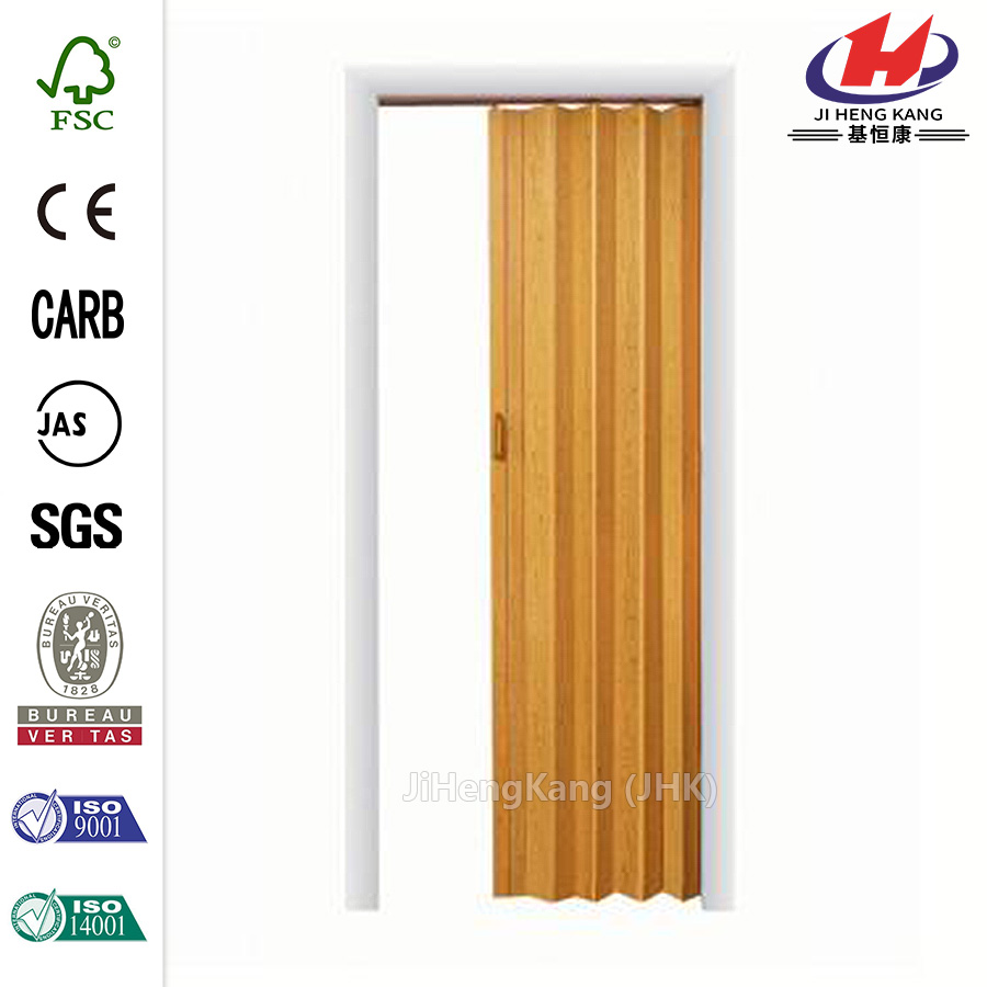 JHK-F01 Lightweight Plastic Shower Interior Folding Door