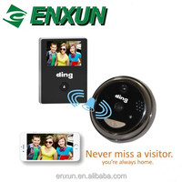 Enxun wireless wifi remote two-way intercom digital front door peephole viewer video doorbell camera
