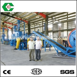 Low price of recycling line